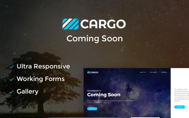 Kargo - Yakında HTML5 Özel Sayfası