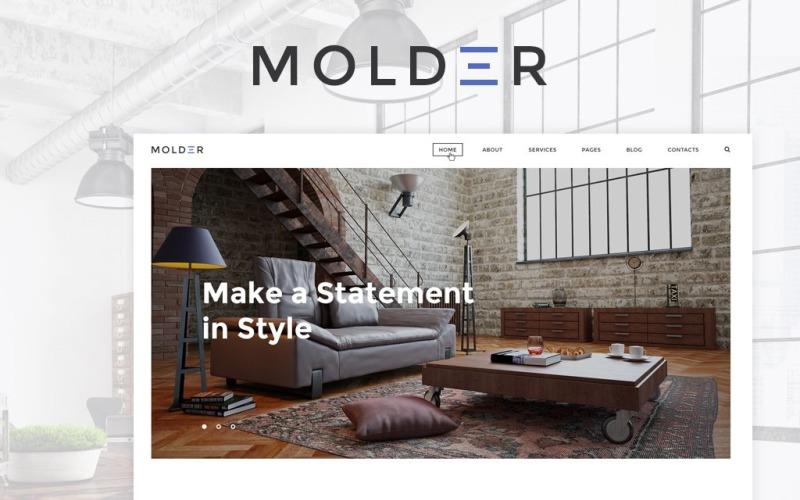 Molder-室内设计网站模板