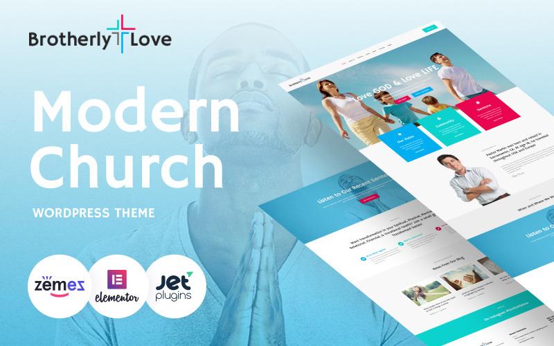 BrotherlyLove - Tema WordPress da Igreja Moderna