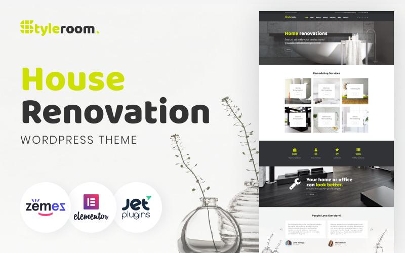 StyleRoom - Tema WordPress reattivo per la ristrutturazione della casa