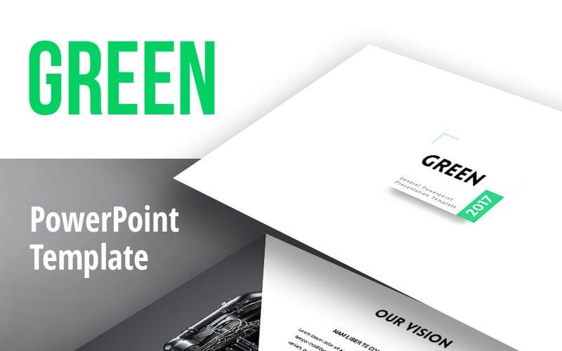 Green2017 PowerPoint-Vorlage