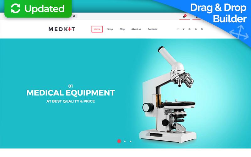 Kit medico - Modello di e-commerce MotoCMS per apparecchiature mediche