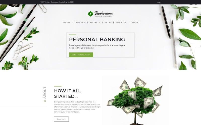 Bankorama - Bank WordPress theme
