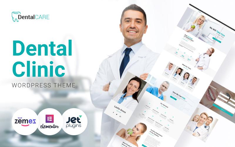DentalCare - Thème WordPress pour clinique dentaire