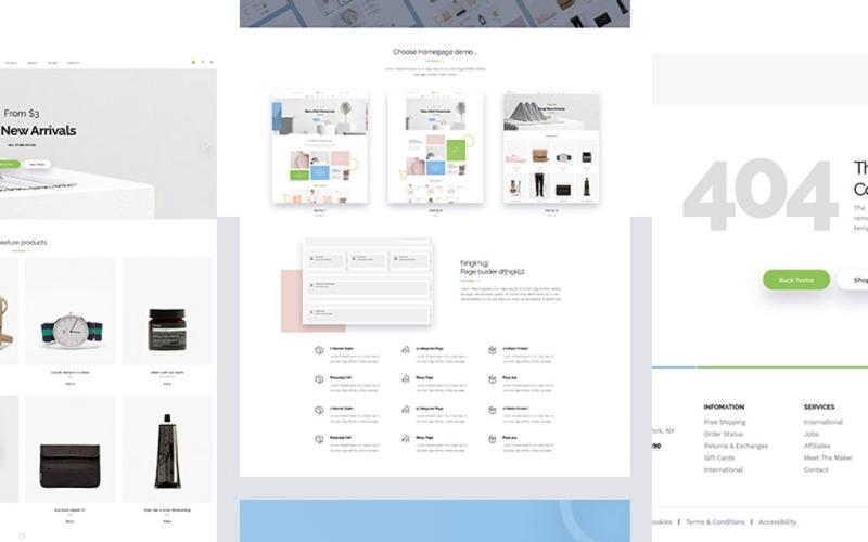 Ministore - Fashion WooCommerce Theme