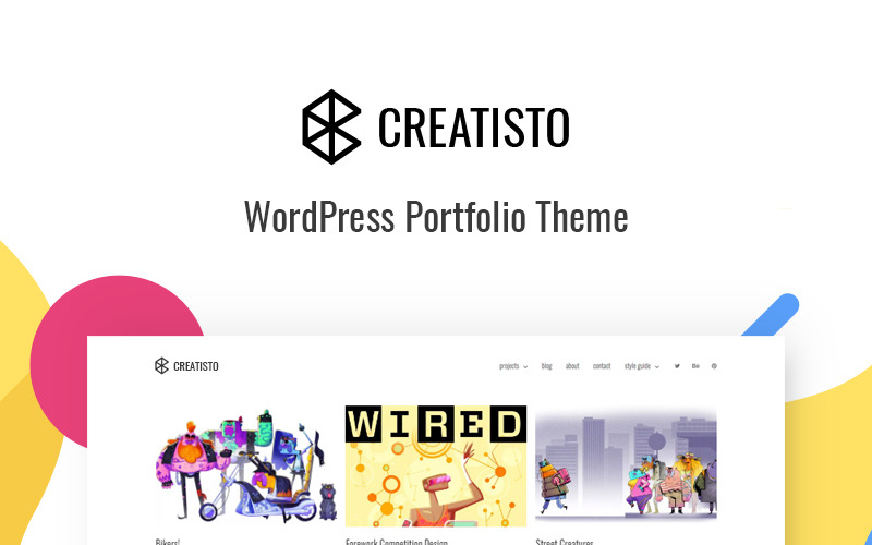 Creatisto - Portfolio WordPress Theme