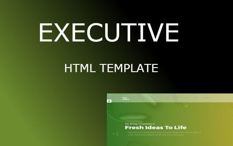 Executive | Multipurpose HTML