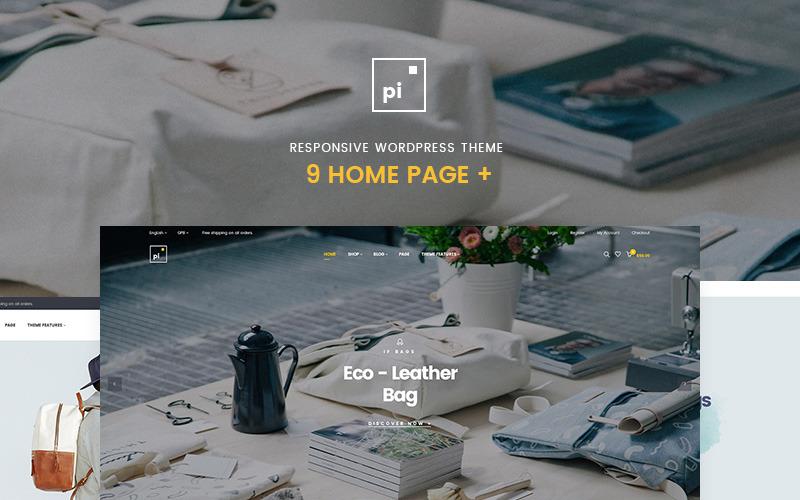 Pi - Multipurpose WooCommerce Theme