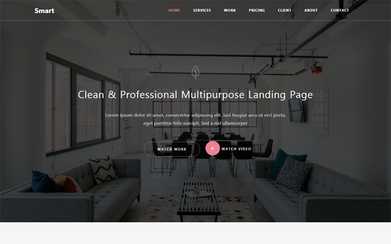 Smart - Responsive Bootstrap 4 HTML5 Website Template