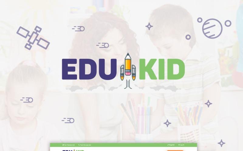 Edukid - тема WordPress для детских садов и школ