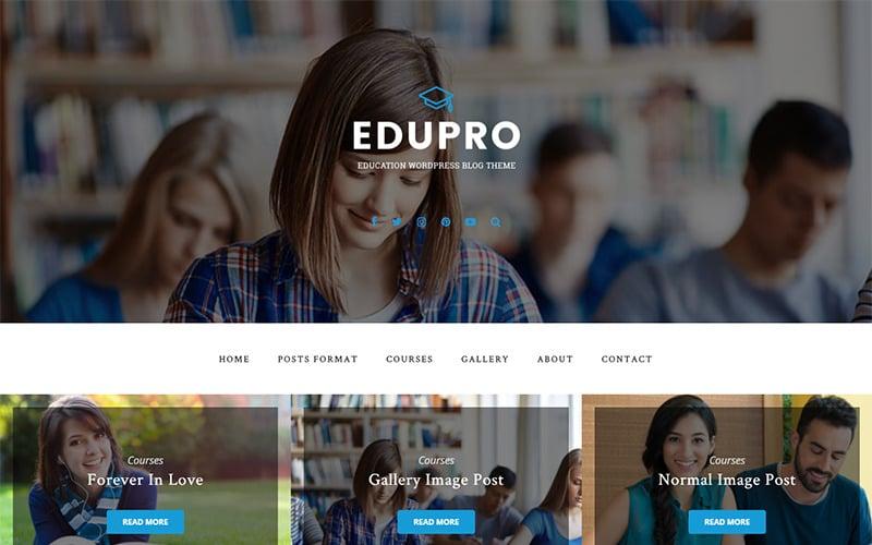 EduPro - Bildungsblog WordPress Theme