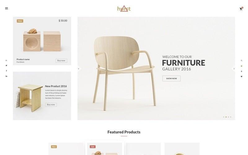 Hurst - Furniture eCommerce Website Template