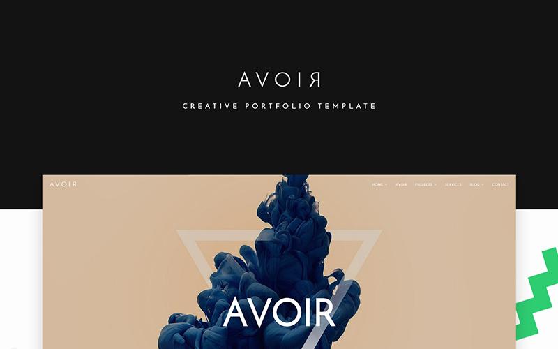 AVOIR Website Template