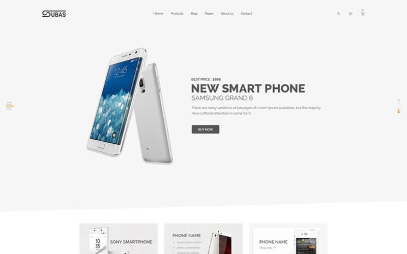 Subas - Electronics eCommerce Website Template