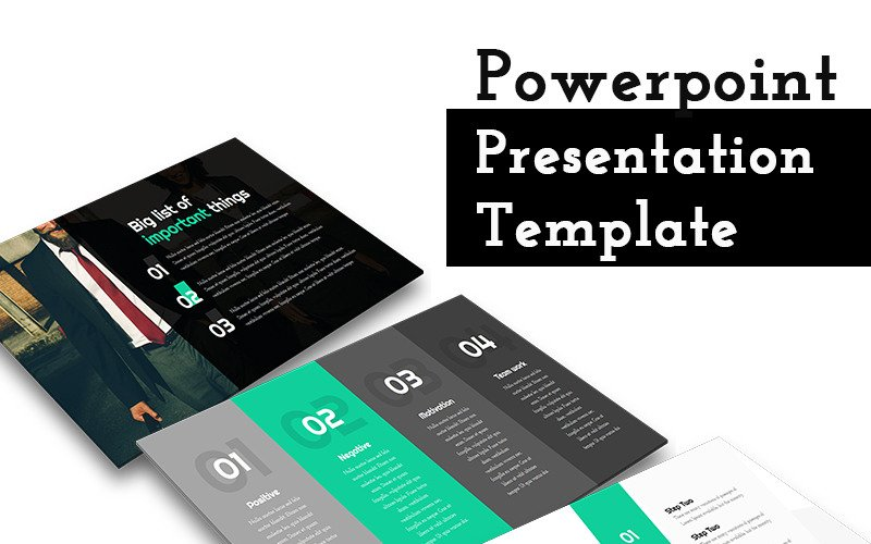Amazing Lists - PowerPoint Template
