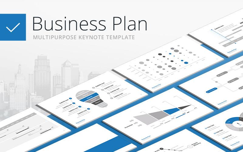 Бизнес-план - Многоцелевой - Шаблон Keynote