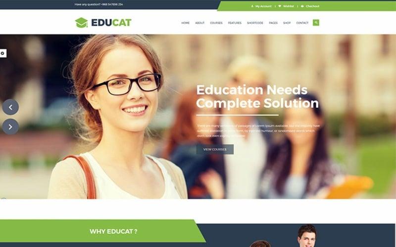 Educat - Education Website Template
