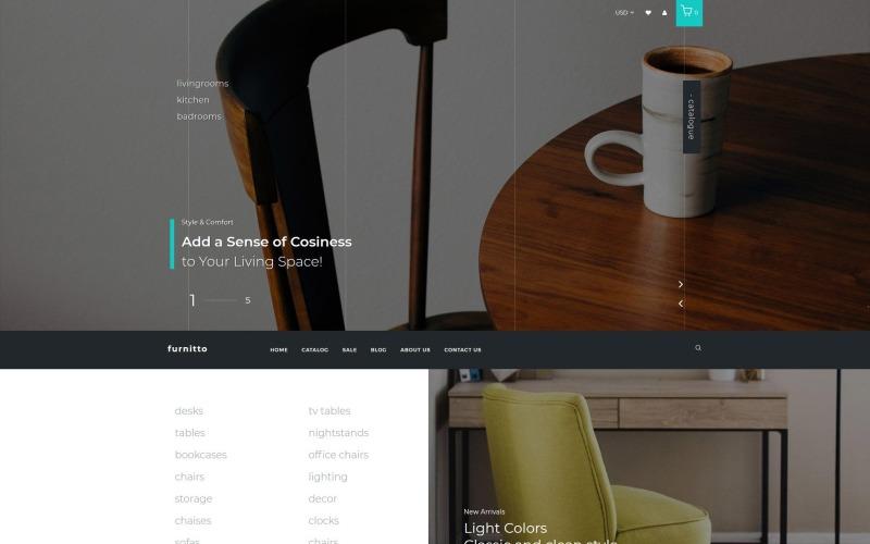 Furnitto - Furniture Store Shopify Theme