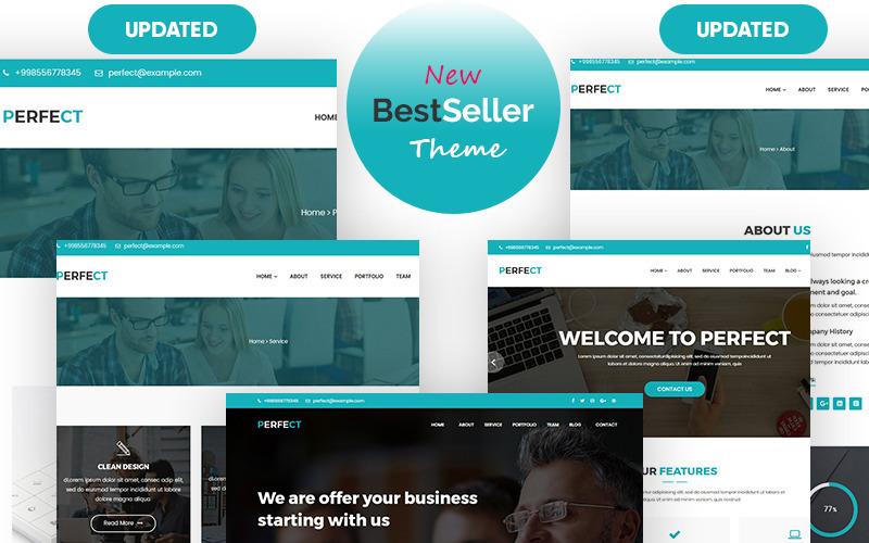 Идеальная корпоративная адаптивная тема WordPress