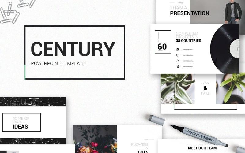 Century - PowerPoint template