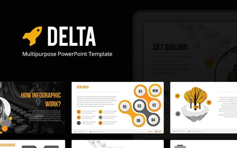 Delta Multipurpose PowerPoint Template