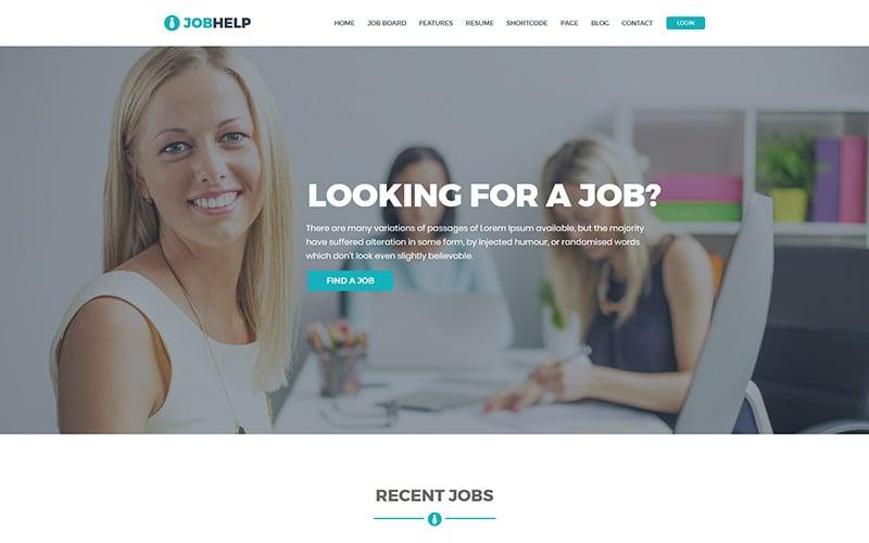Job Help - Job Board Website Template