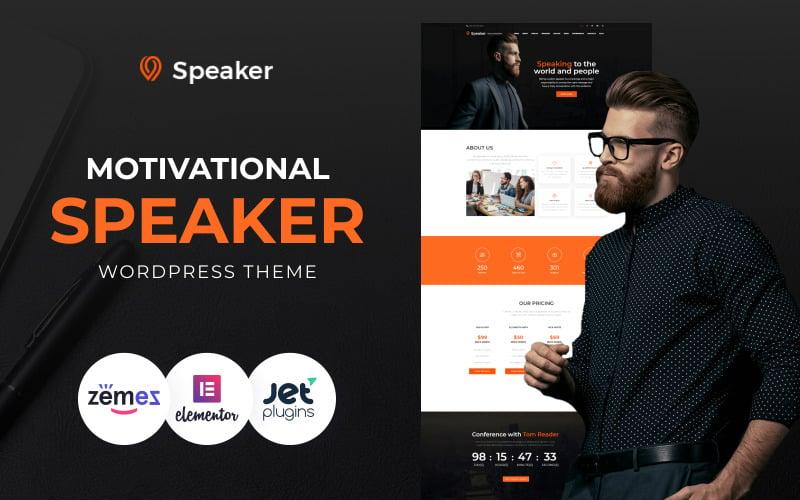 Speaker - WordPress тема Life Coach