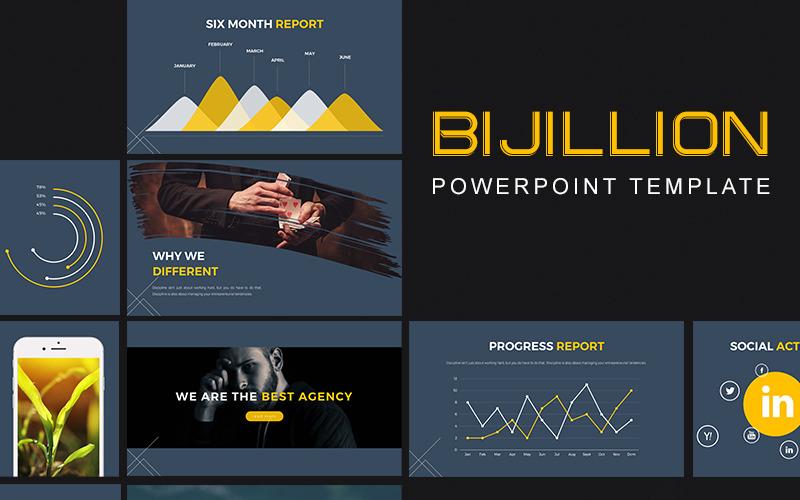 Bajillion PowerPoint Template
