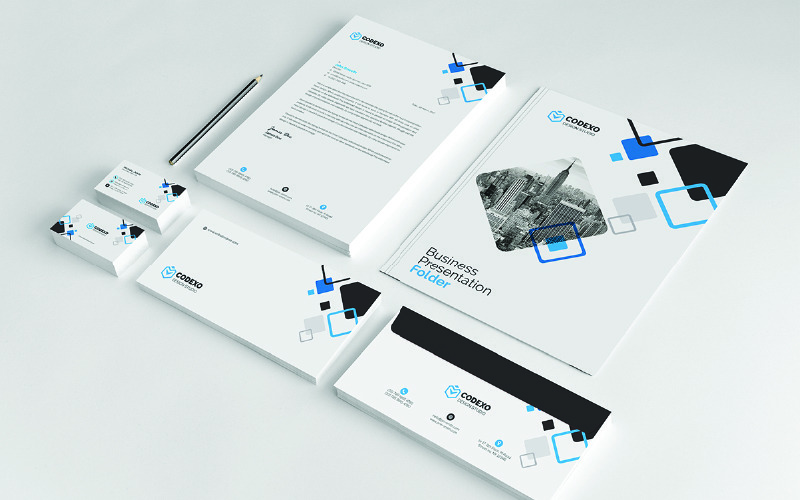 Four Colors - Corporate Identity Template