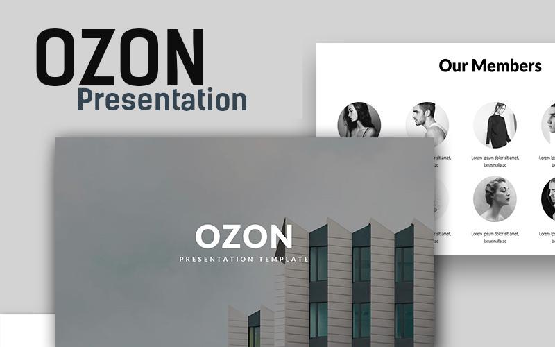 Ozon Minimal PowerPoint Template
