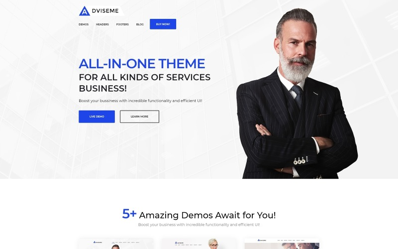 Adviseme - Thème WordPress Business Advisor