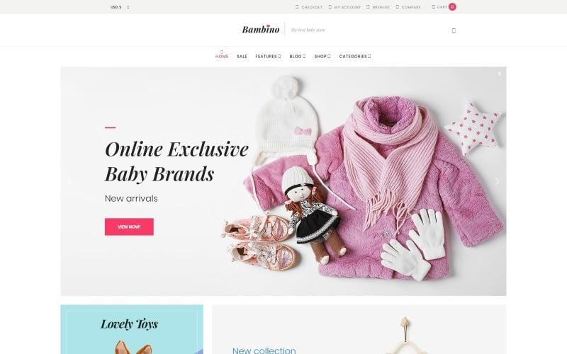 Bambino - Baby Store Responsive WooCommerce Theme