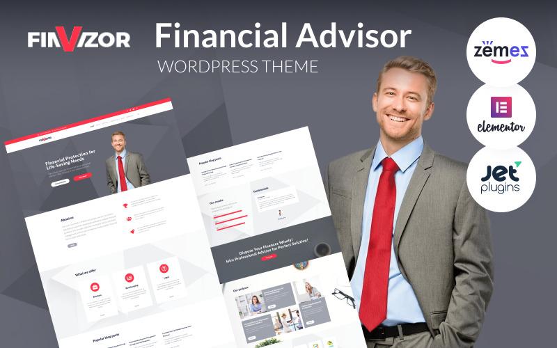 FinVizor - WordPress Theme for Financial Advisor