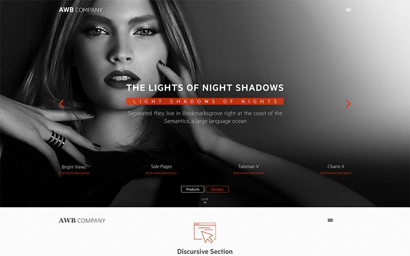 Plantilla PSD Light Shade