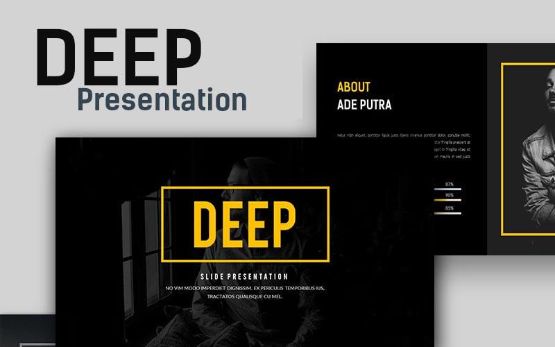 Deep Creative - Presentation PowerPoint template