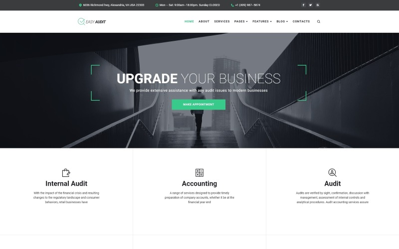 EasyAudit Auditing WordPress-tema