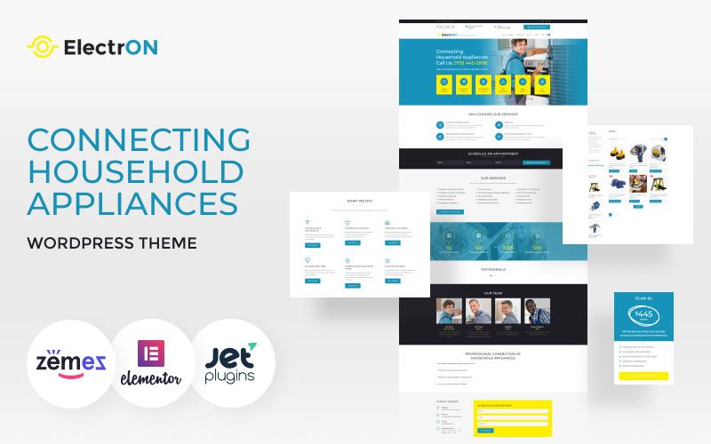 ElectrON - Connecting Household Appliances WordPress Theme