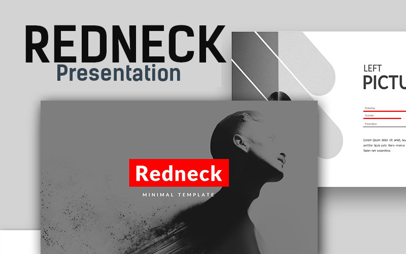 Redneck Creative Minimal PowerPoint šablony