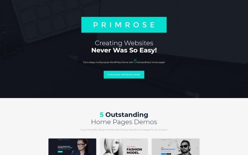Primrose - Multipurpose WordPress Theme