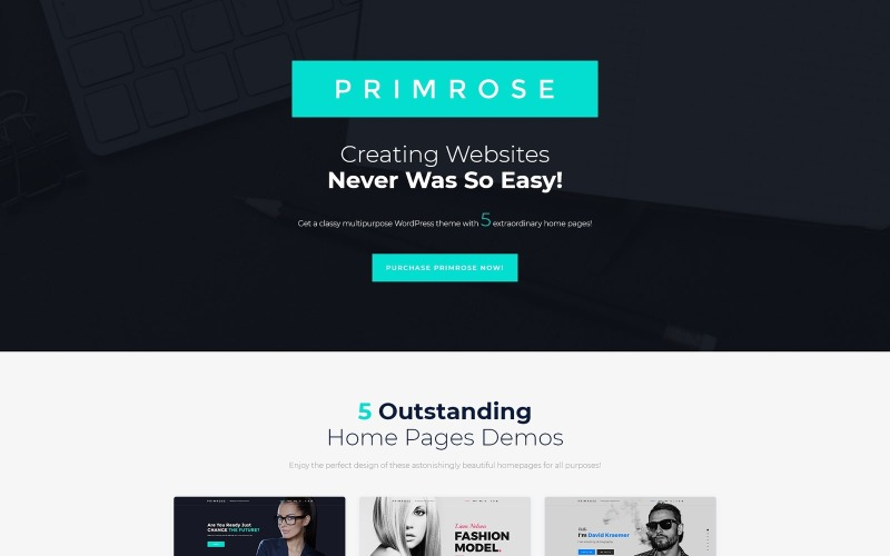 Primrose - Tema WordPress multiuso