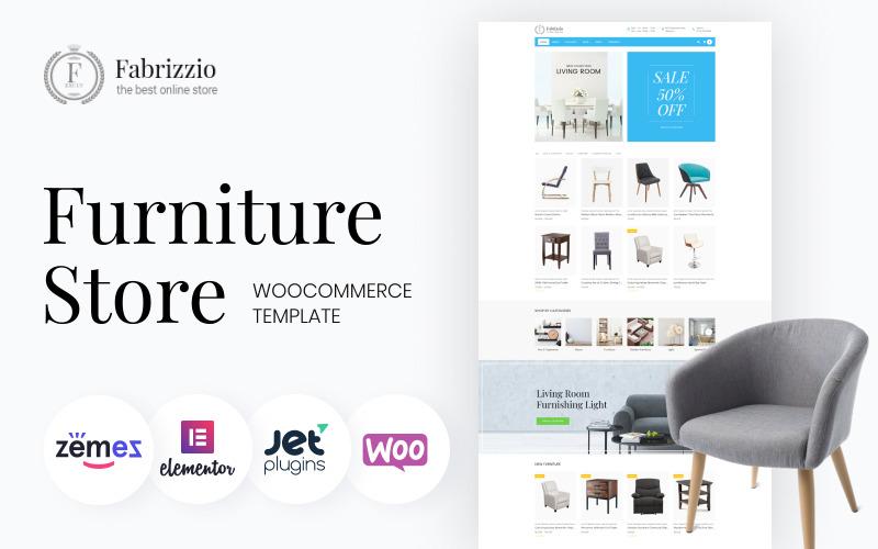 Fabrizzio - Meubelwinkel WooCommerce-thema