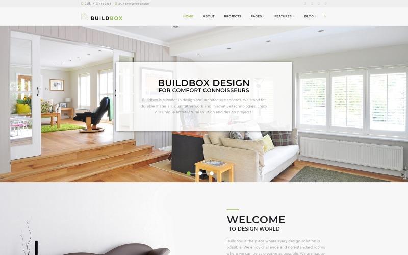 Buildbox-建筑局WordPress主题