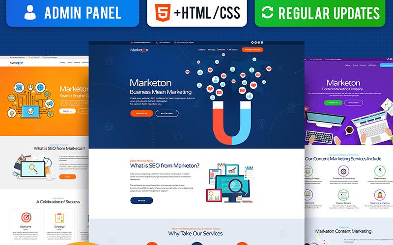Multipurpose Marketing Landing Page Template