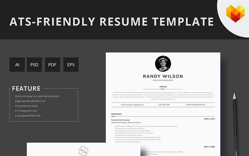 Ats Friendly Resume Format from s.tmimgcdn.com