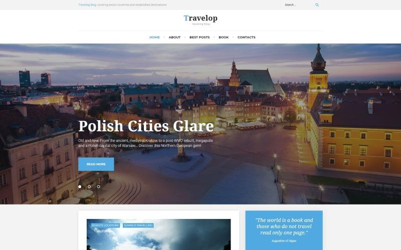 Travelop_lite - Motyw WordPress ze zdjęciami z podróży