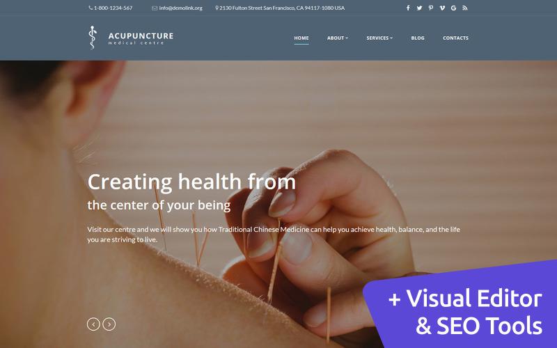 Agopuntura - Modello Moto CMS 3 Medical Center