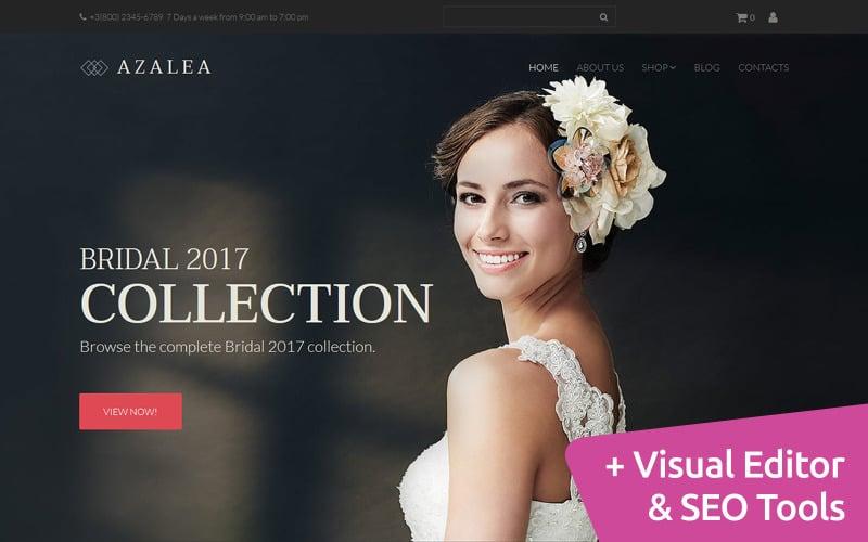 Azalea - Wedding Shop MotoCMS Ecommerce Template