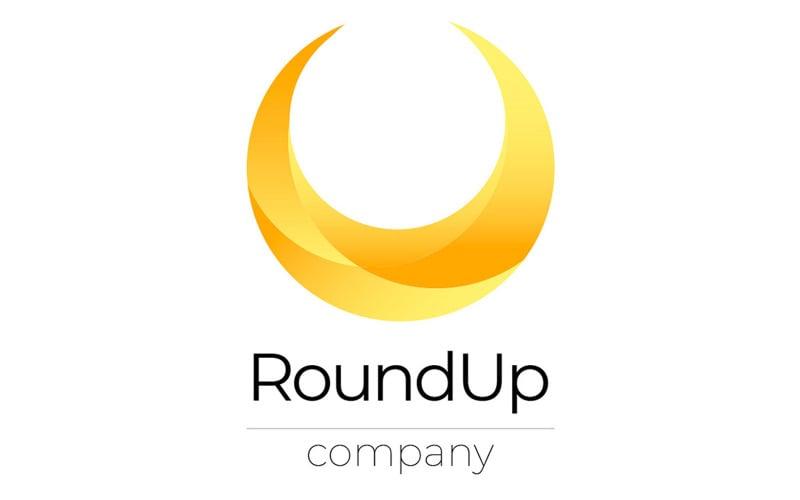 Free Round Logo template
