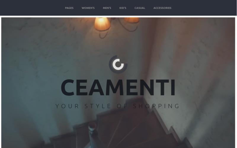 Ceamenti - Your Style of Shopping PrestaShop Theme
