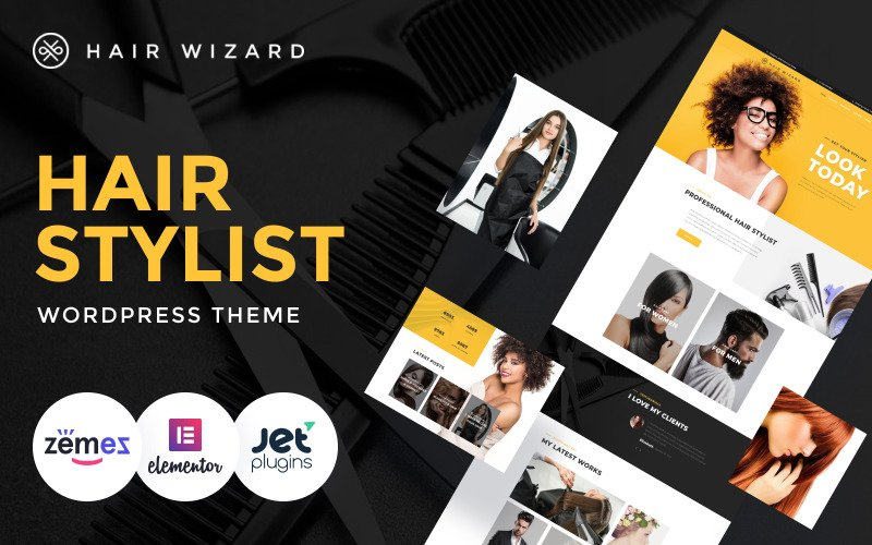Hair Wizard - Hair Stylist WordPress Theme